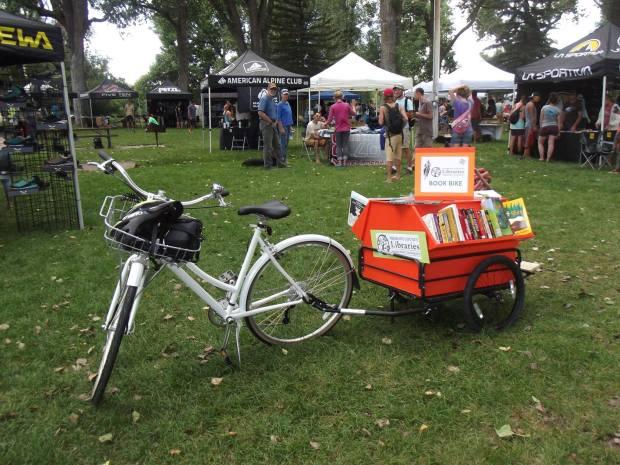 Lander Library Book Bike